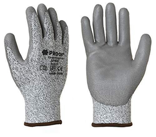 Schnittschutz Sicherheitshandschuhe Schnittfest EN388 Zertifiziert Handschutzhandschuhe 1 Paar (Größe XL - 10)