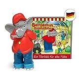 tonies Hörfiguren für Toniebox: Benjamin BLÜMCHEN Hörspiel - EIN Törööö für alle Fälle Figur - 18 packende Geschichten - ca. 61 Min. - ab 3 Jahre - DEUTSCH