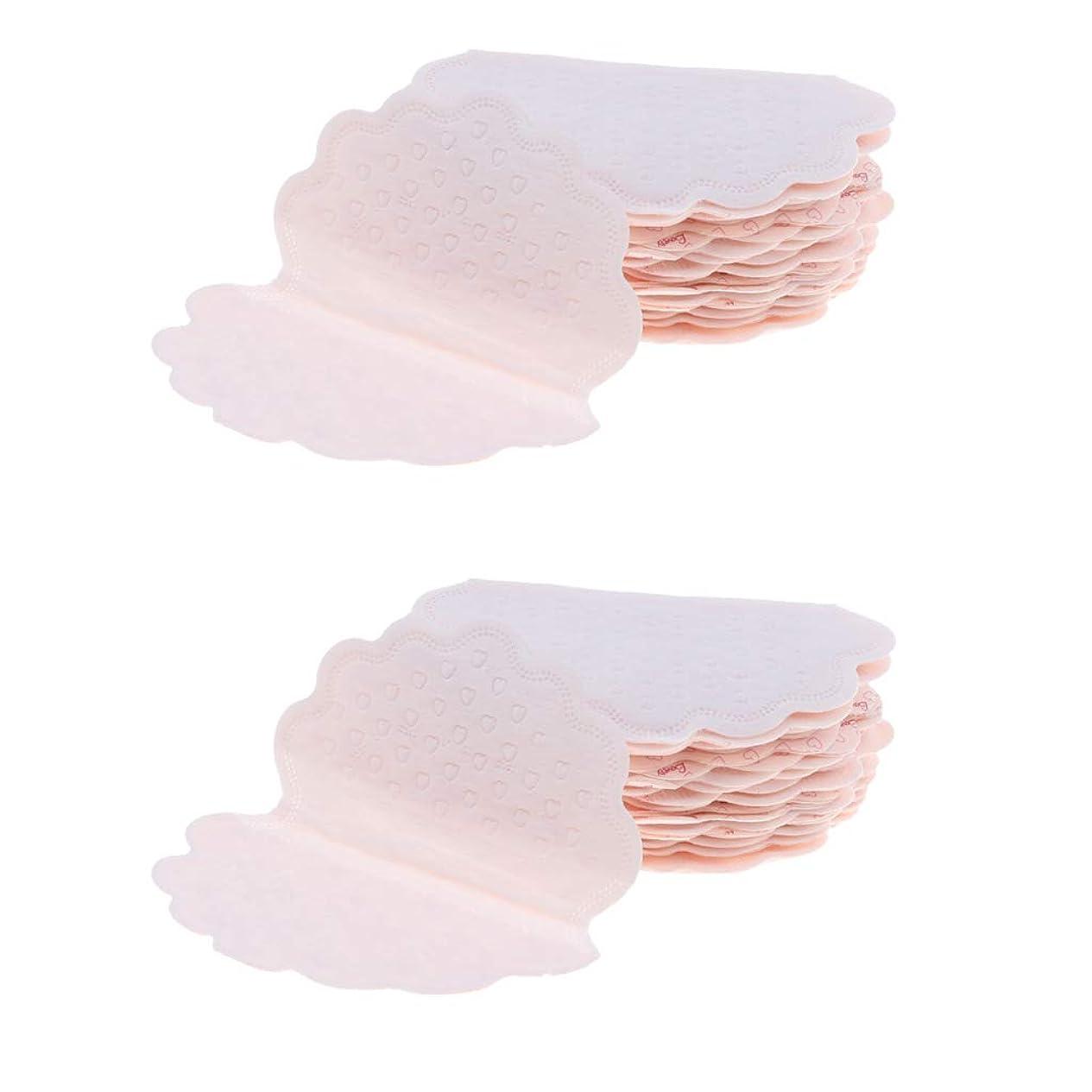 氏巻き取り花弁chiwanji 脇の下 汗パッド 汗と臭い吸収 ワキ汗対策 使い捨て 汗取りパッド あせジミ防止