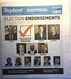 Shepherd Express (Milwaukee newspaper), February 13-19, 2020 (Primary Election Endorsements: Mayor Tom Barrett, Ed Fallone, Jill Karofsky, Vincent Bobot, Tearman Spencer, Brett Blomme, et al.)