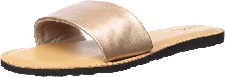Volcom Volcom Simple Slide Pantoletten Clogs Damen Schwarz Pantoffel  Kauf es einfach