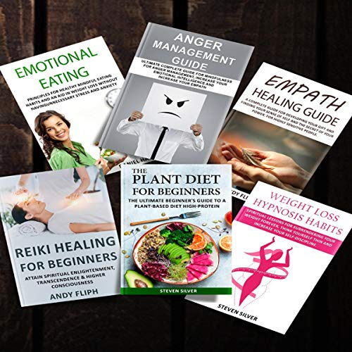 Bright Line Eating: 6 Books in 1: The Science of Living Happy, Thin & Free with Reiki Secrets for Beginners