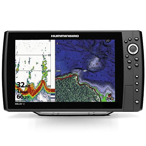 Humminbird 410360-1 Helix 12 CHIRP GPS G2N Fishing Charts & Maps