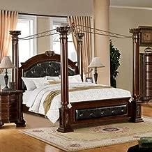 black baroque bed frame