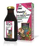 Salus Floradix Kids - Integratore Alimentare di ferro e vitamine per bambini, con vitamine B1, B2, Niacina, B6, B12 e vitamina C - 250 ml