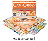 Late for the Sky CAT-opoly Board Game White, Large