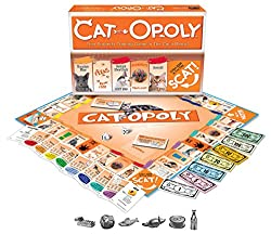 the best gift for cat lovers who dont like going out on a cold winter day or night could be cat opoly this fantastic game looks pretty much the same as