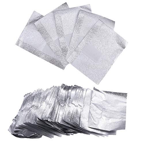 Minkissy Gel Nagellak Remover Wraps Nail Folie Wrap Acryl Verwijderen Wraps Nagellak Remover Foil Wraps 500Pcs