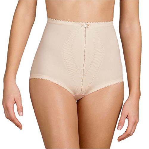Playtex Damen, Miederslip, I Can't Believe It's a Girdle Brief, Skin 2522, Large