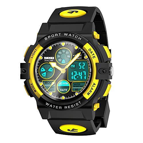 Easony Reloj LED Digital para Niña o Niño, Rgalos para Niño Niña de 6-15 Años Reloj Digital para Niña Niño de 3-12 Años Reloj Juguetes para Niña Niño de 3-12 Años