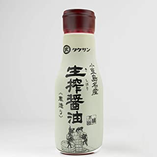Pure Artisan Japanese Soy Sauce Premium All Natural Barrel Aged 1 Year Unadulterated and Without Preservatives (7 fl oz (Fresh bottled))