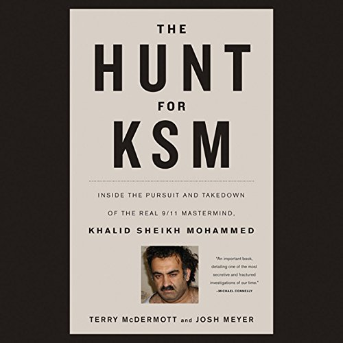 The Hunt for KSM audiobook cover art