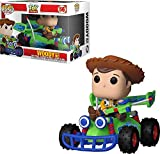 Funko- Figura Pop-Disney-Toy Story-Woody con RC Pixar 37016 Multicolore-Talla única...