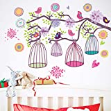 JiaMeng Pegatinas de Pared Pintura Decorativa Dormitorio TV Decoración de Pared Pegatinas de Pared Mural