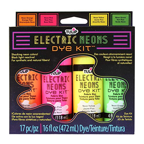 Tulip Electric Neons Tie-Dye Kit, Multicolor