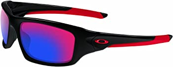 Oakley Mens Valve Non-polarized Iridium Rectangular Sunglasses