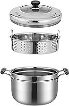 Steamer Pot Set, Stomende Kookgerei Potten, Steamer Cooking Met Combinatie Glazen Kap, Onafhankelijk Stomen Rooster Met Ha...
