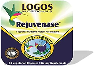 Logos Nutritionals - Rejuvenase - ProHydrolase Digestive Enzymes for Protein Powder Digestion and Absorption