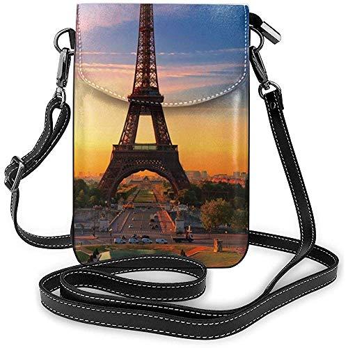 Interieur shop Parijs Eiffeltoren kleine schoudertas mobiele telefoon tas mini dode schoudertas voor op reis werken winkelen