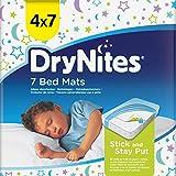 drynites dm Die Bett-Unterlagen sind 78 x 88 cm groß und passen auf ein Einzelbett. Sie bestehen aus einem weichen, leisen Material, das Ihrem Kind hilft, bequem und ruhig zu schlafen