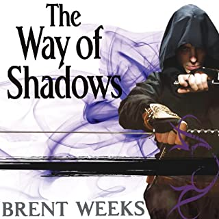 The Way of Shadows audiobook cover art