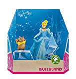 Bullyland 13438-Set Juego, Walt Disney-Cenicienta y Karli, Figuras pintadas a Mano, sin PVC, para Que los niños jueguen de Forma imaginativa, Color Colorido (Bullyworld 13438)