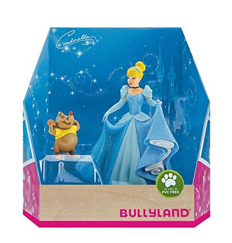 Bullyland 13438 - Spielfigurenset, Walt Disney Cinderella - Cinderella und Karli, liebevoll handbemalte Figuren, PVC-frei, tolles Geschenk für Jungen und Mädchen zum fantasievollen Spielen