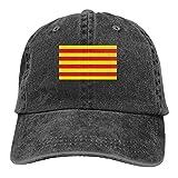 DRXX Sombrero de Casquette con Bandera catalana, Gorra de béisbol Unisex Vintage, Gorra de...