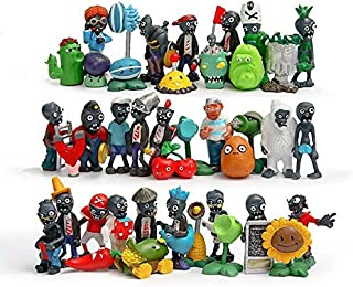 KAKALIN 24 - 40Pcs Game Plants Vs Zombies 2 Action Role Figures Series PVC Toys Kid Gift (40 Pcs)