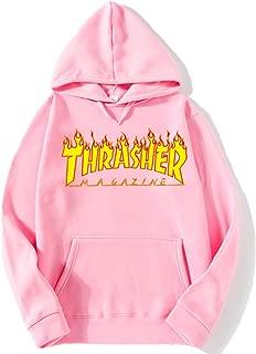 Flame Thrasher Magezine Hoodie for Man Pullover Long Sleeve Sweatshirt Unisex