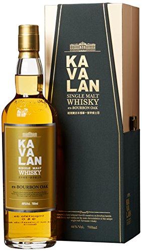 Kavalan Single Malt Whisky ex-Bourbon Oak (1 x 0.7 l)