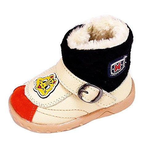 Magnus Kinder Schuhe Baby Winterschuhe (35A) Winterstiefel Stiefel Jungen,Mädchen Schuhe Neu Größe 21 EU, Farbe Beige