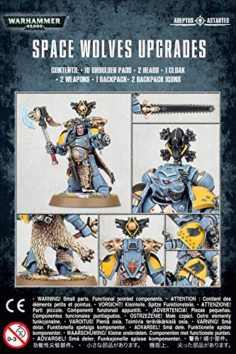 Games Workshop Warhammer 40k - Space Wolves Primaris Upgrades