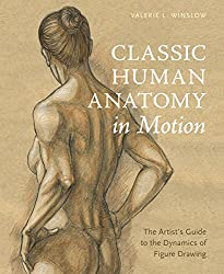 book cover for classic human anatomy in motion
