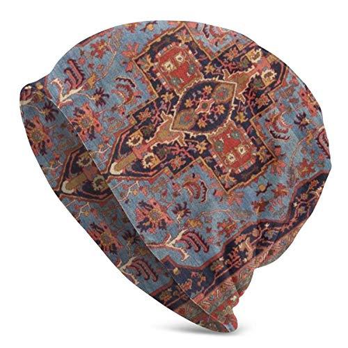 Kay Sam Unisex Beanie Caps Tradicional Persa Isfahan Vintage Alfombra Estilo Impresión...