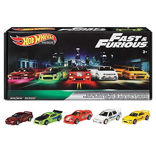 Hot Wheels Premium Bundle - F&F Vehicles