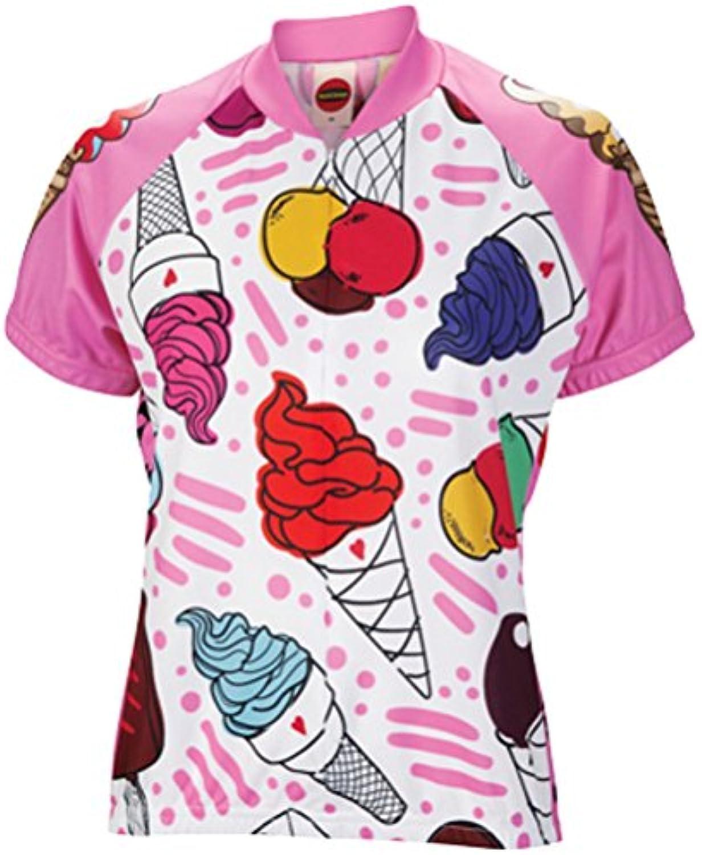 Basik World Jerseys Women's Ice Cream Cycling Jersey