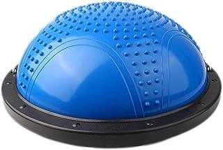 Yoga Ball Wave Speed Ball Fitness Ball Balance Ball semi-Spherical Ball Yoga Ball Weight Loss Shaping Beam Ball (Color : D, Size : 58CM)