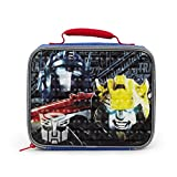 Transformers Lunch Buddies Black Insulated Lunch Kit