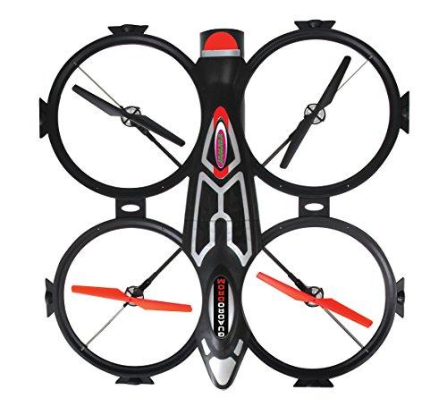 Jamara 038585 Quadrocopter, schwarz