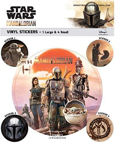 Pyramid Star Wars: The Mandalorian - Legacy (Vinyl Stickers) Merchandising