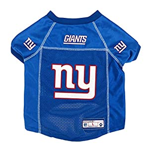 NFL New York Giants Pet Jersey, Small