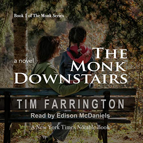The Monk Downstairs audiobook cover art