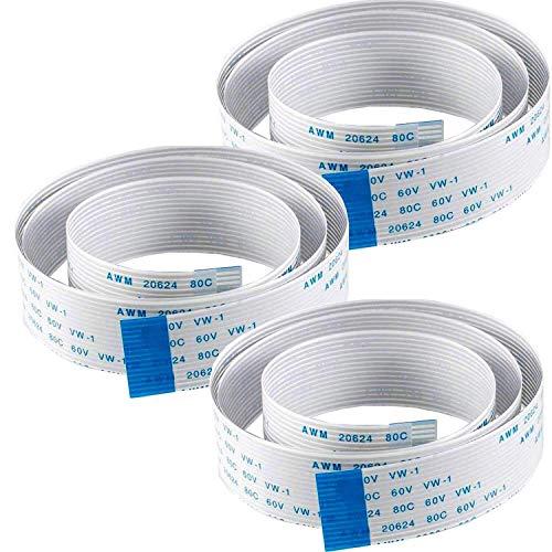 AZDelivery 3 x Cable de cinta flexible de Repuesto Flex Cable FFC...