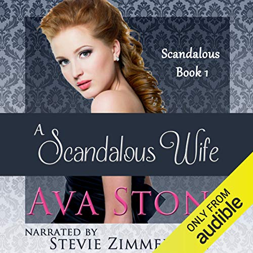 A Scandalous Wife audiobook cover art