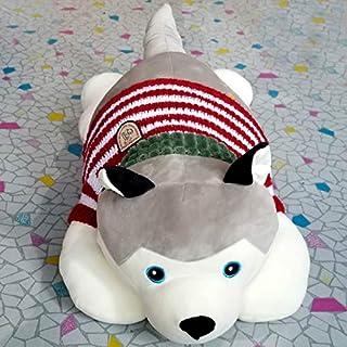 Almohada De Masaje Con Forma De Mascota, Almohada De Masaje Eléctrica De Cuerpo Completo, Masajeador De Muñecos De Peluche, Se Puede Usar En La Oficina, Coche