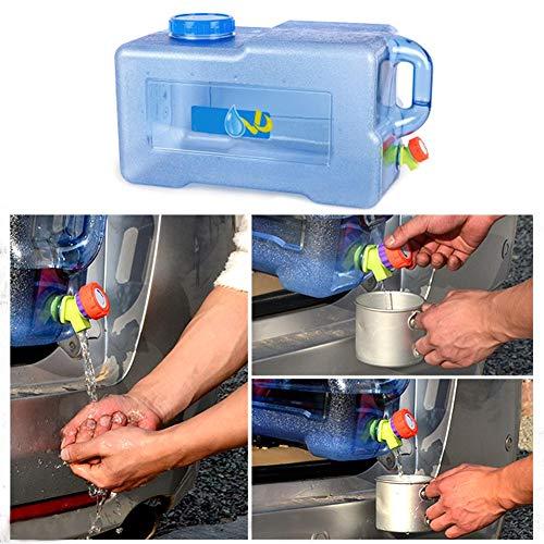 25L Camping Wassertank Tragbarer Wasserkanister Mit Großer Kapazität | PC-Tränkeeimer Mit Wasserhahn, Verdickung Und Haltbarem Wasserbehälter Für Outdoor, Camping, Reisen, Büro Usw. Hohe Qualität