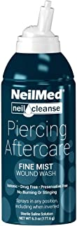NeilMed NeilCleanse Piercing Aftercare، Mist Fine، 6 سی سی اونس