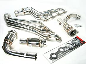 OBX Catted Exhaust Header Manifold 06-09 Chevy Trailblazer SS V8 6.0L CAT