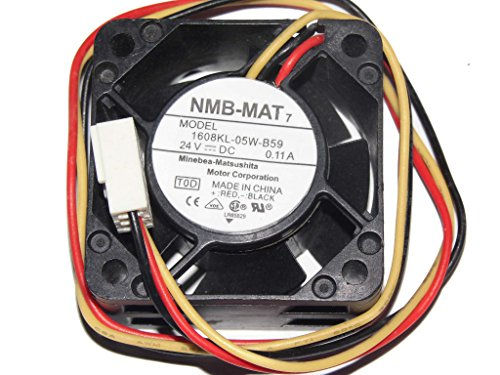 1 Pcs NMB Fan 1608KL-05W-B59 DC 24V 0.11A 3 Pin 40*40 *20mm